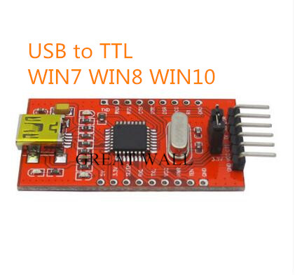 50pcs FT232BL FT232 USB TO TTL 5V 3.3V Download Cable To Serial Adapter Module For Arduino USB TO 232 Free Shipping