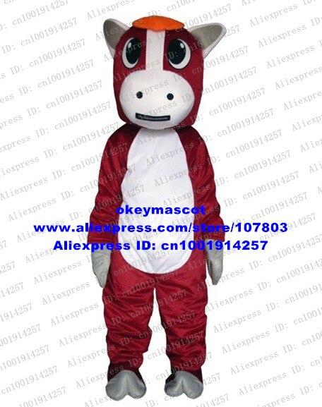 1705 Rojo Yegua Pony Horse Traje De La Mascota Del Vestido De Lujo De Dibujos Animados Mascotte No 4096 Envío Gratis En Mascota De La Novedad Y