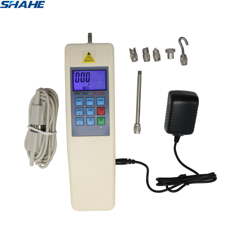 100N Digital Force Meter Dynamometer Force Measuring Instruments Push Pull Force Gauge Tester Meter HF 100
