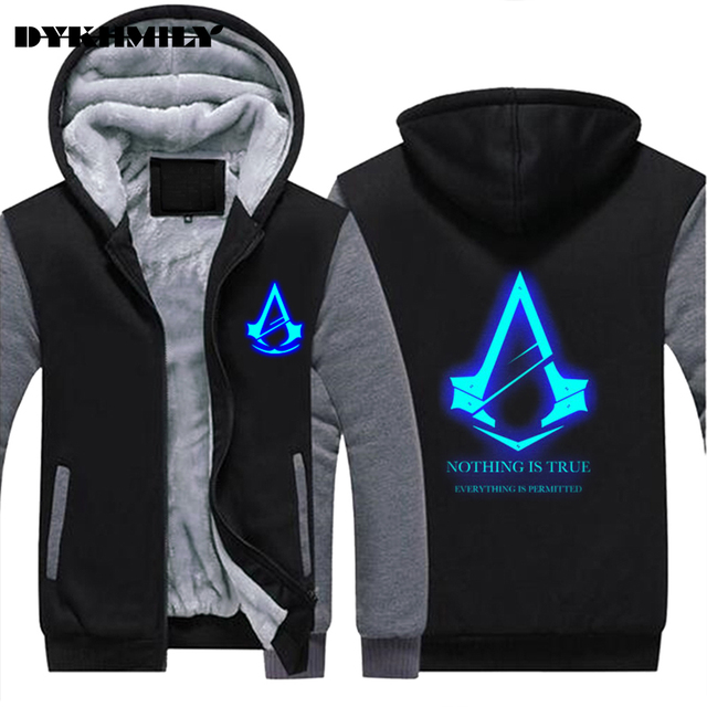 e97cb8528f1d 2017 Autumn Winter Assasins Creed Hoodie Men Cosplay Sweatshirt Costume Assassins  Creed Mens Hoodies Jackets Casual Sweatshirt