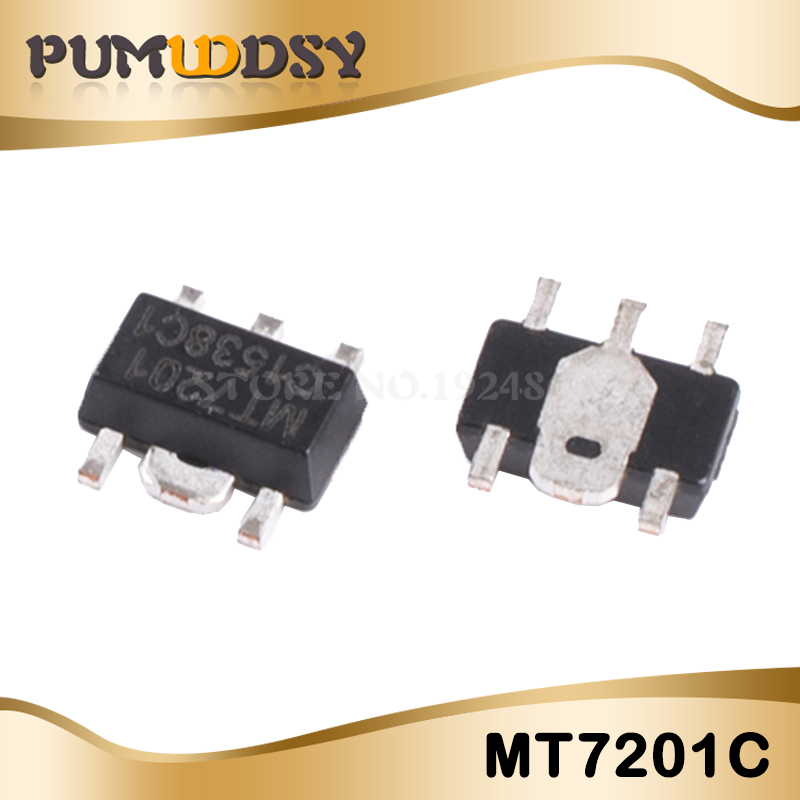 10pcs/lot New MT7201C MT7201 7201C SOT-89-5 LED LCD DRIVER IC