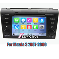 Wince 6.0 Car DVD Player GPS Navigation System Radio Stereo for Mazda 3 2007 2008 2009 with Free SD Card