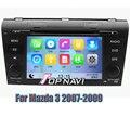 Wince 6.0 Sistema de Navegación de Coches Reproductor de DVD GPS de Radio Estéreo para Mazda 3 2007 2008 2009 con Tarjeta SD Libre
