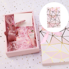 US $2.01 15% OFF|Pink Shredded Paper Raffia DIY Gift Box Paperboard Cookie Cake Packaging Box Hot Stamping Cardboard Luxury Wedding Candy Box-in Gift Bags & Wrapping Supplies from Home & Garden on Aliexpress.com | Alibaba Group