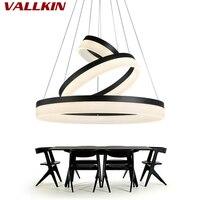 Modern New Lamp Chandelier Led Lights Acrylic Light Round Ring Room Light Fixture LEDs Chandelier Luster