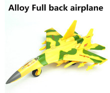 2015 Sale plane toy,alloy pull back Fighter model Toy Vehicles , Diecasts Airplanes toys, free shipping