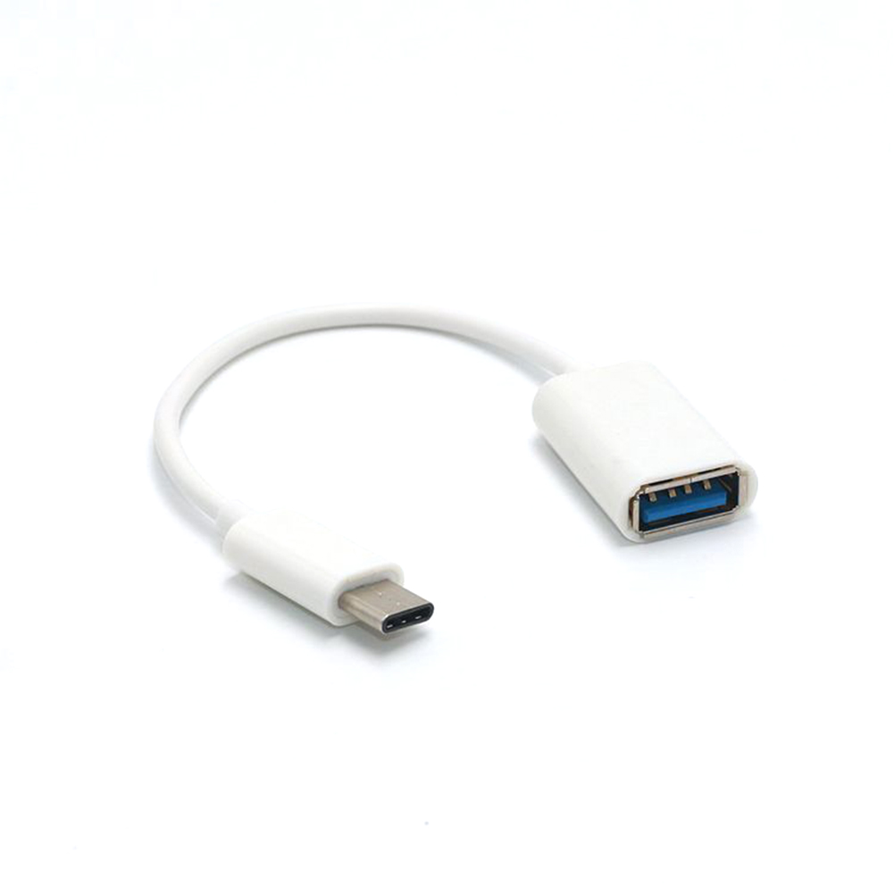 3.1 For Huawei Xiaomi Mi 9 Mobile Phone OTG Adapter Cable Male To USB 3.0 A Female OTG Data Cord Adapter 16CM Type-C