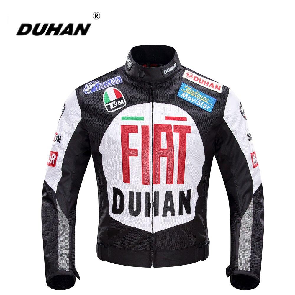 Здесь продается  DUHAN Motorcycle Jackets Men Motocross Protective Racing Jacket Motorcycle ReflectiveJaqueta Clothing Blouson Moto Black Red   Автомобили и Мотоциклы