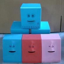Hot selling Cute Facebank Face Money Box Sensor Coin Saving Bank Piggy Bank