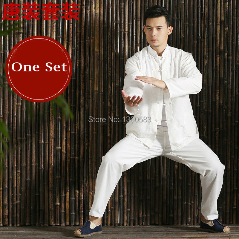2016 Chinese tang Kung Fu Wing Chun Uniform tai chi clothing costume cotton breathable fitted clothes a type of Bruce Lee suit fu rong tang manual toothpaste 160g