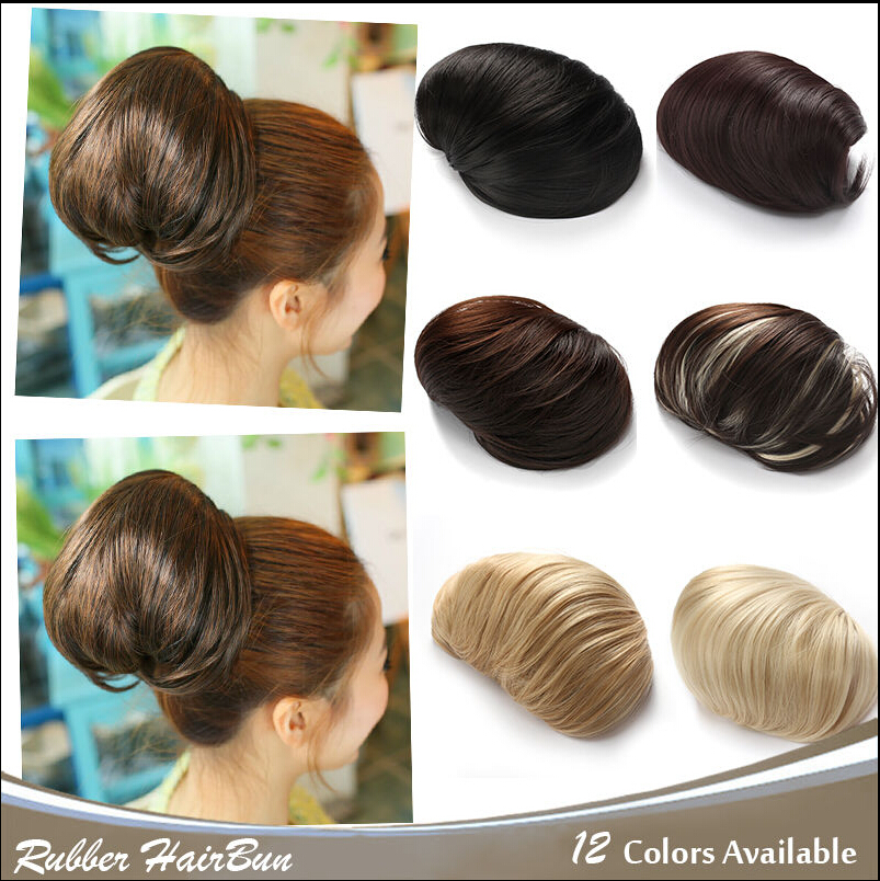 Factory Direct 5 Color Synthetic Clip In Ballet Donut Smooth Hair Bun Extension Chignons Piece For Long On Aliexpress Alibaba Group