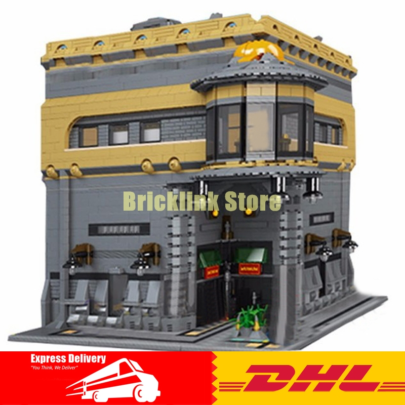 Modular MOC LEPIN 15015 5003pcs City Street The dinosaur Museum Model Building Kits Set Blocks Brick Toy lepin 15015 5003 stucke stadt schopfer der dinosaurier museum moc modellbau kits ziegel spielzeug kompatibel weihnachtsgeschenke