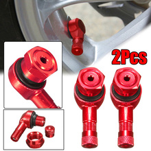 CNC шины клапан алюминиевый сплав аксессуары замена инструменты мотоцикл Красные колеса герметичный колпачок прочный практичный