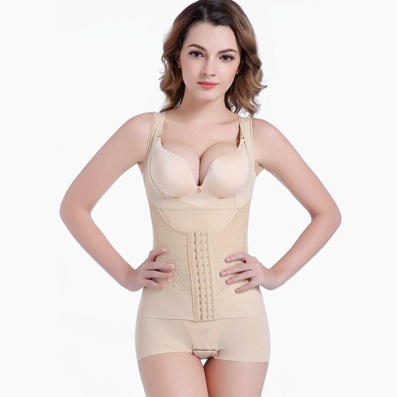 Waist trainer Shaper Corset Slimming Bodysuit Underwear Maternity clothing Shapewear Control Tummy Shaper Panties Modeling strap