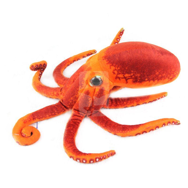 Realistisch Ausgestopften Tiere Paul Octopus Plüsch Spielzeug Puppen Kissen Weiche Spielzeug für Kinder Geschenke