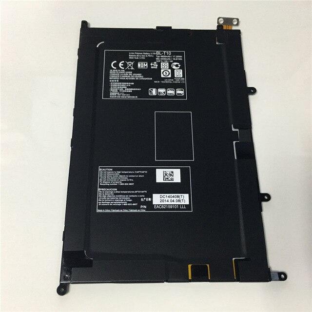 5000mah 100 Original Genu type BL T10 Battery For LG G Pad Tablet 8 3 V500