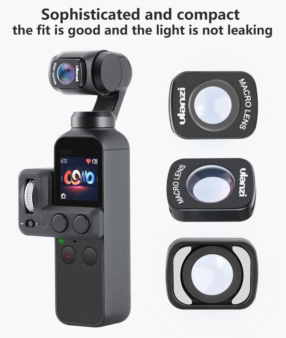 ulanzi macro lens for osmo pocket