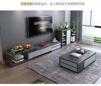 TV Stand modern Living Room TV monitor stand mueble stalinite cabinet mesa+tv table stand+ Coffee centro Table home furniture