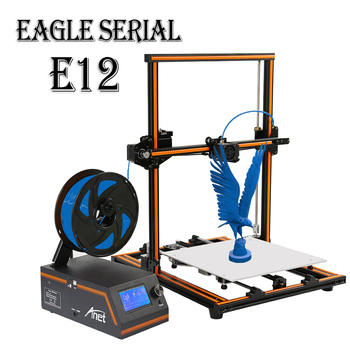 A impressora 12D Anet E16 E3 pré-monta o bocal de extrusão de alta precisão DIY Reprap Prusa i3 3D Printer com 10m Filament Impresora 3D 1