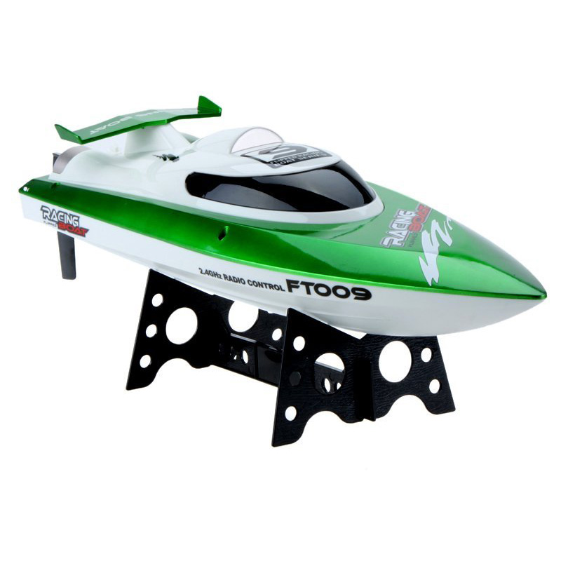Feilun FT009 Toys Speedboat 2.4G cooling water 4CH Remote Control of RC Outdoor high speed racing boats(green) f15720 1set high quality feilun ft009 rc boat speedboat component spare parts receiver circuit board box ft009 9 fs