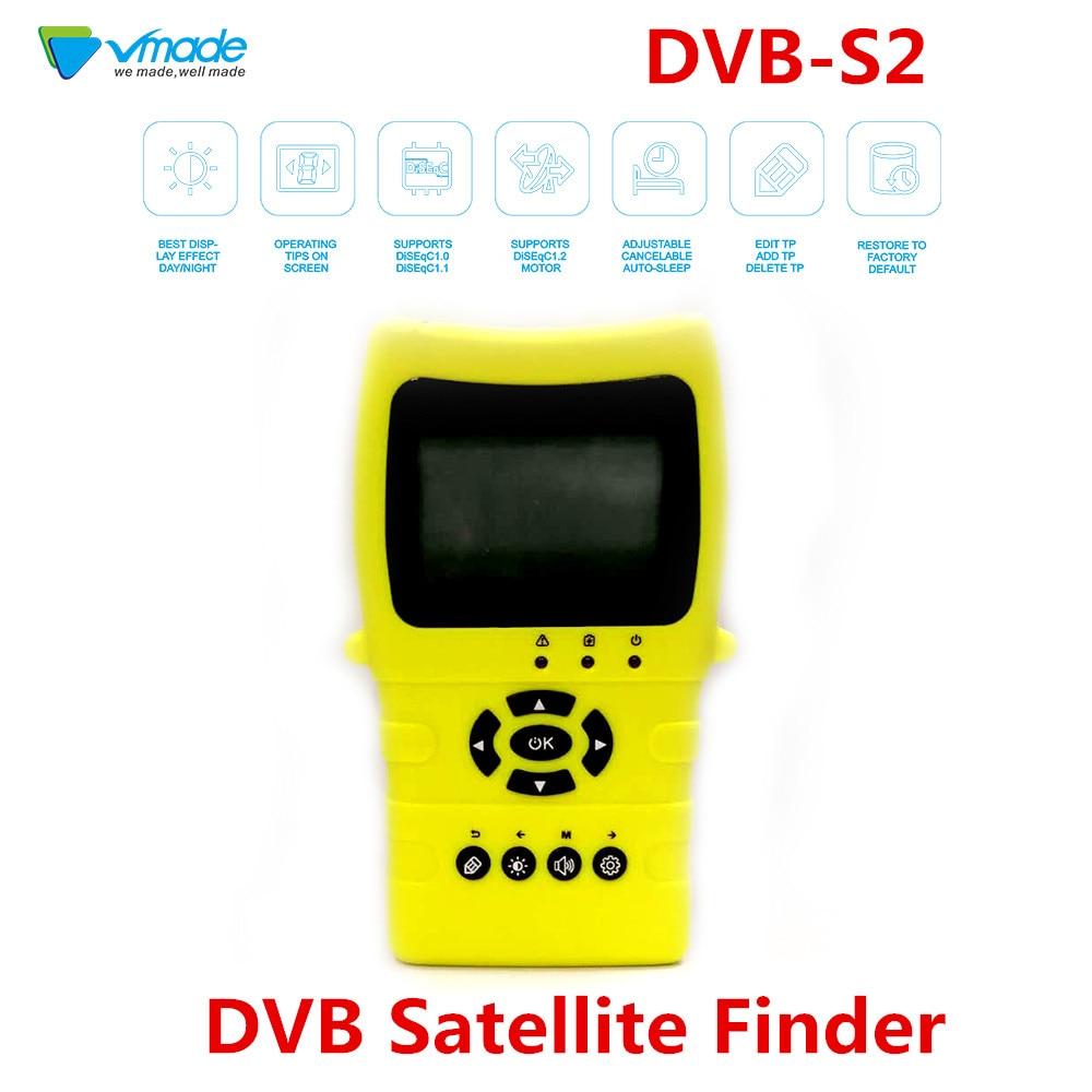 Détecteur Satellite numérique haute définition Vmade Satlink TM8511 DVB MPEG-4 détecteur Satellite DVB S2 2.2 pouces