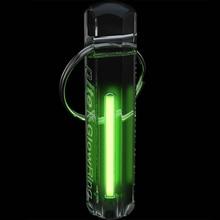 Автоматический свет Тритий газовая лампа брелок спасательные аварийные огни для наружного инструмента безопасности и выживания