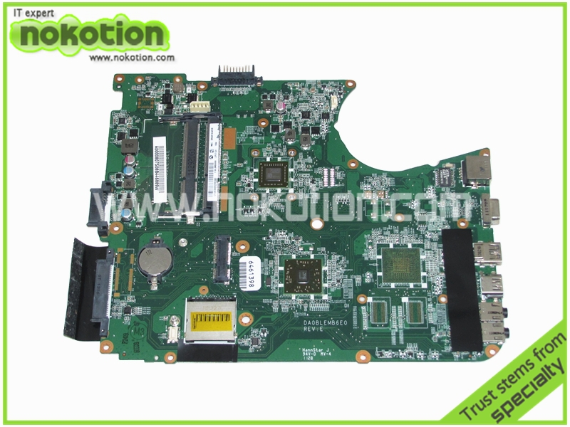 NOKOTION A0000807508 DA0BLEMB6E0 Laptop Motherboard for Toshiba Satellite L750D L755D E-350 Mainboard warranty 60 days mainboard a000080830 da0blemb6e0 rev e for toshiba satellite l750d l755 l755d laptop motherboard e350 ddr3