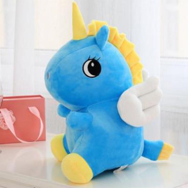 Cartoon Plush Unicorn Toy Cute Unicorn Plush Stuffed Animal Horse Toy Baby Kids
