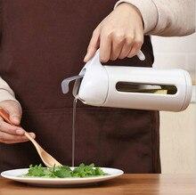High Quality Kitchen Glass Oil Pot, Home Leak-proof Jar, Seasoning Soy Sauce Vinegar Bottle,Small Bottle 320ML 500ML