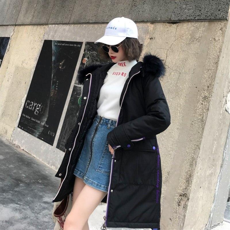 De Femme Rembourré Long xl Femmes Veste Coton M Bas Manteau pu Ciel Parkas Col Mode noir Le Parka Vers Occasionnel Fourrure Fille 2018 À Beige D'hiver Capuche wq0EBpUHx
