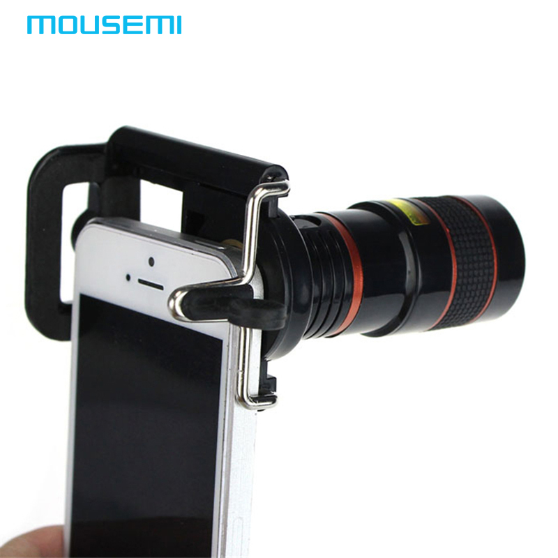 iphone 5 lens universal 8 x zoom optical lens phone telescope 11008