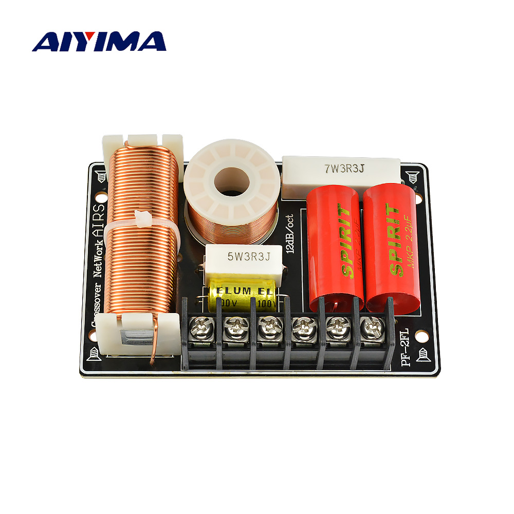 Aiyima Active Speakers Frequency Divider Filter Tweeter Subwoofer Way Speaker Crossover Work Also Jbl 3 Diagrams 200w 2way Audio Board For Parts Sound System In Accessories From
