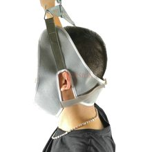 Neck traction medical cervical belt neck stretching device and metal bracket pull frame special hook