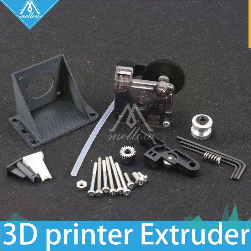 Free shipping 3D printer titan Extruder Kits for Desktop FDM Reprap Kossel MK8 J head bowden