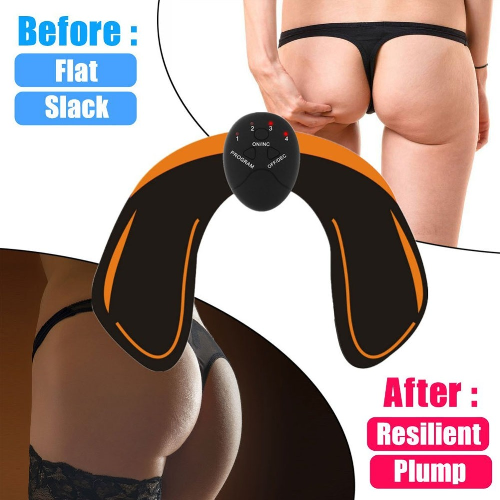 EMS Hips Trainer Muscle Hip Stimulator Butt Buttock Trainer Vibrating Exercise Gym Muscle Machine ABS Workout Home Fitness