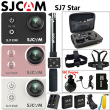 "Ursprüngliche SJCAM SJ7 Stern Action Kamera 4 Karat WiFi Sport DV Ultra HD Ambarella A12S75 2,0 ""Touchscreen 30 mt Wasserdichte Fernbedienung SJ Cam"