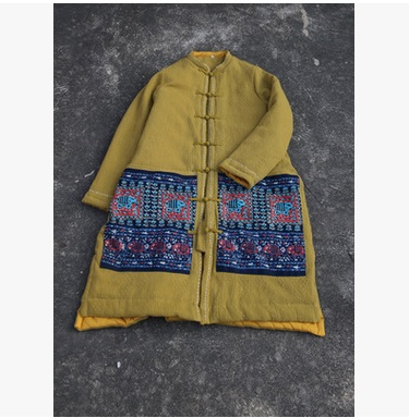 In the winter of 2016 products, the quality of original design brand loose big yards of cotton linen women's cotton цена и фото