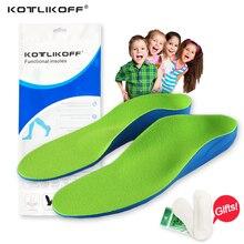 Enfants Enfants Orthopédiques Semelles pour Enfants Chaussures Flat Foot Arch Support Orthèse Tapis Correction Soins des Pieds Semelle