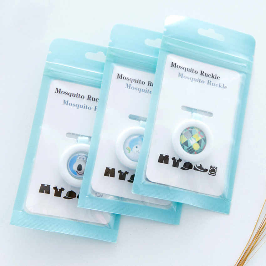 Anti-Mosquito Buckle Waterproof Incense Repellent Guard Mosquito Sticker killer Safe for Baby Children Kids Mosquito Clips#3$