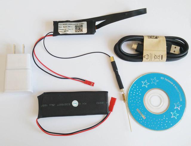 S06 WI-FI Módulo Conjunto Completo CCTV Acessórios 90 graus 2500 MAH