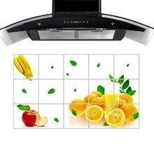 75 Cm 45 Cm Lemon Fruit Kitchen Wall Stickers Accessories Chef Kitchen Decor Aluminum Foil