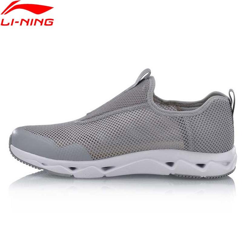 Li Ning Men LN UPSTREAM Aqua Shoes Classic Lifestyle Shoes Breathable Light Weight LiNing Sport Shoes