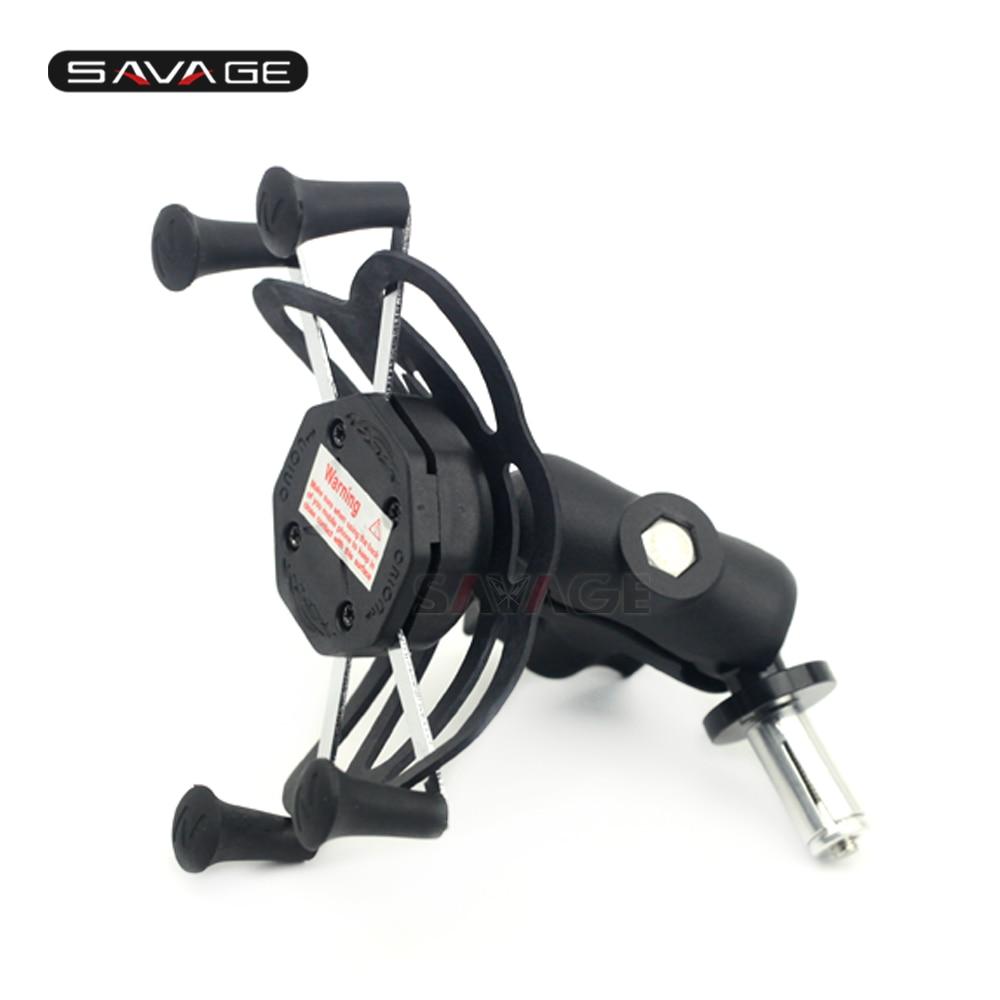 цена на X-Grip Phone Holder For SUZUKI GSXR600 97-99, GSXR750 1996-1999 Motorcycle Accessories GPS Navigation Bracket GSXR GSX-R 600 750