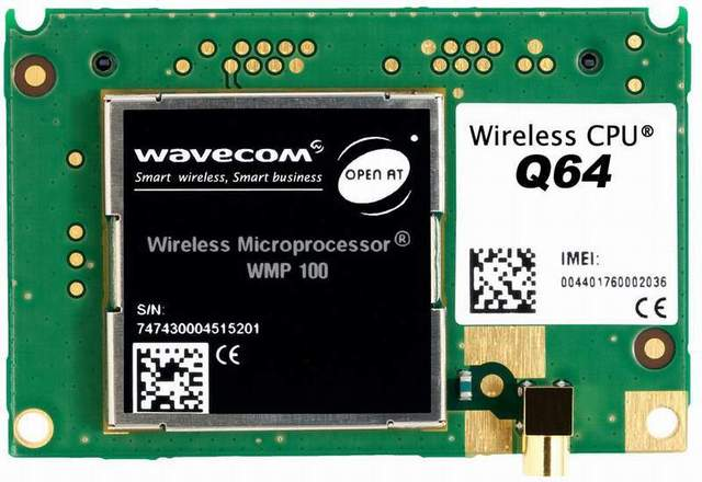 Wavecom Q64 Sierra Wireless Replace GR64 unlimited  2G   90% NEW used  GSM GPRS  LGA  Module in stock Free Shipping