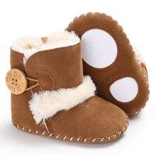 16b5da7064c Raise Young Winter Plus Velvet Warm Baby Boots Soft Soles Non-slip Toddler  Girl Snow Booties Newborn Infant Boy Shoes 0-18M