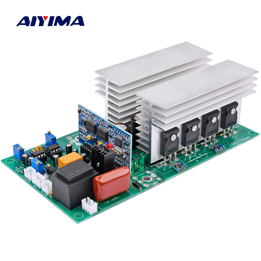 AIYIMA Inverter DC12V 24V 36V 48V 60V To AC1000/2000/2800/3600/4000W Pure Sine Wave High Power Frequency Inverters Transformer