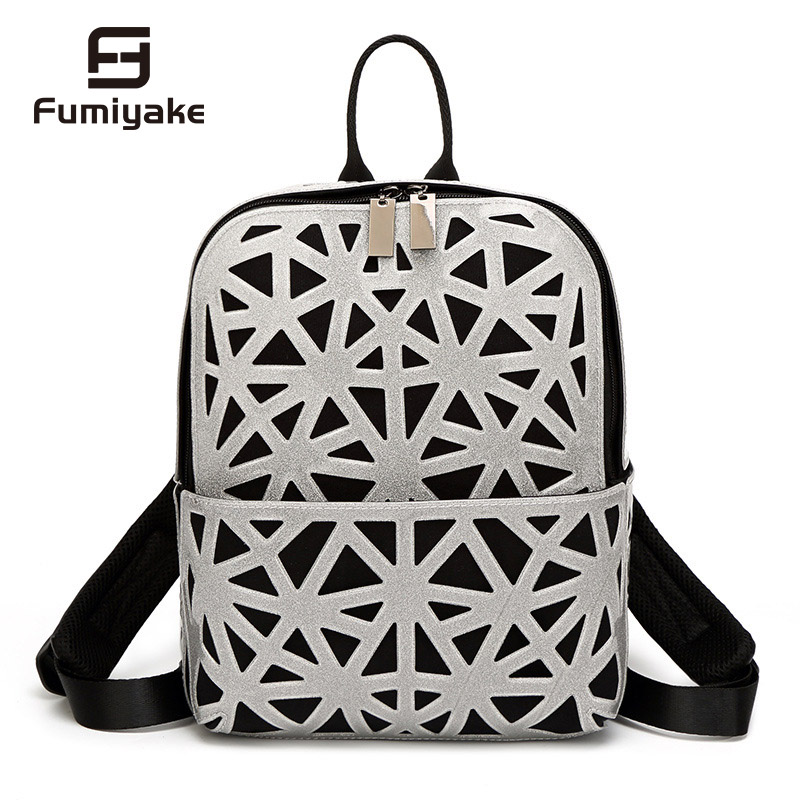 2019 New Geometric Backpack Women Mini Folding Student School Bags for Teenage Girl Women Backpacks Hologram Travel Backpack2019 New Geometric Backpack Women Mini Folding Student School Bags for Teenage Girl Women Backpacks Hologram Travel Backpack