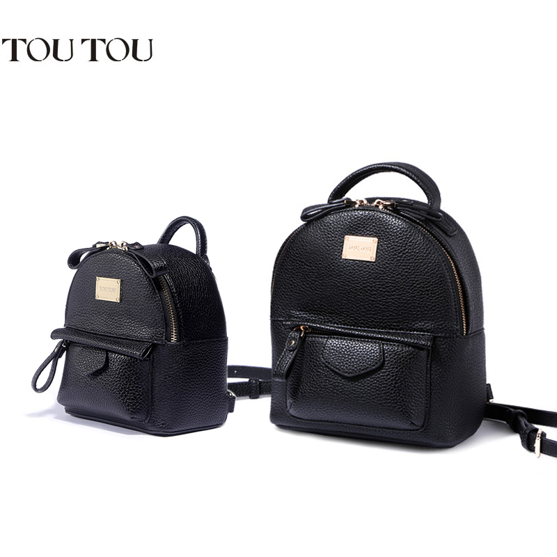 A1607 TOUTOU brand Fashion Women Mini small Backpack Rivet Pu Leather School Backpacks for Girls mochila escolar backpack female toposhine small rivet women backpacks fashion pu leather women shoulder bag rivet small ladies backpack girls school bags 1751