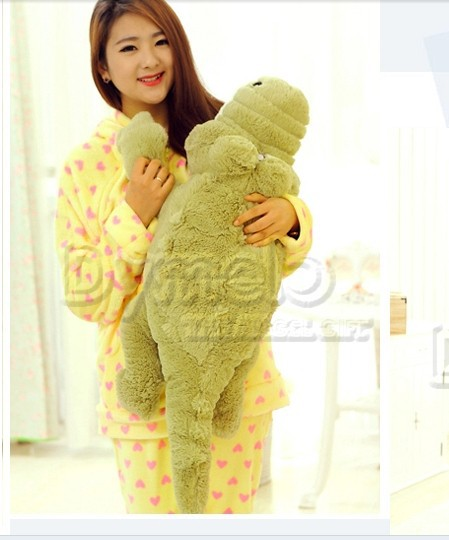 stuffed animal crocodile plush toy 200cm doll Cushion throw pillow about 78 inch throw pillow p0211 stuffed animal plush 80cm jungle giraffe plush toy soft doll throw pillow gift w2912