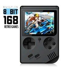 Coolbaby RS-6A Ретро Портативный мини портативная игровая консоль Gameboy 8-битный ЖК-дисплей детская Цвет ТВ игровой плеер встроенный 168 игр